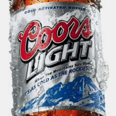 Coors Light - the mountains turn blue when the beer is cold so it must be good. Birthday Bbq, Bud Light, Bottle Lights, Coors Light, Light Beer, Love Is Free, Best Beer, Mothers Love, Summer Fun