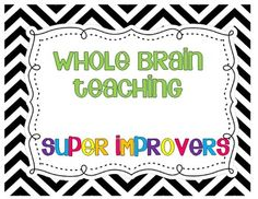 Are you implementing Whole Brain Teaching?? You will need your super improvers wall!! FREEBIE!