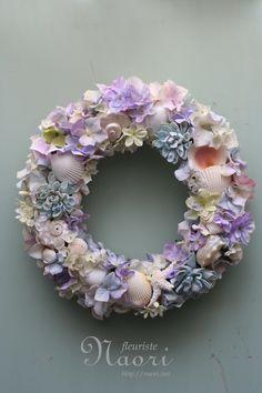 shell wreath