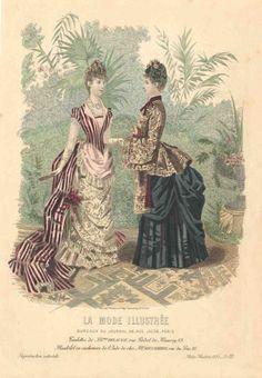 La mode illustree 1885 - Plate 20