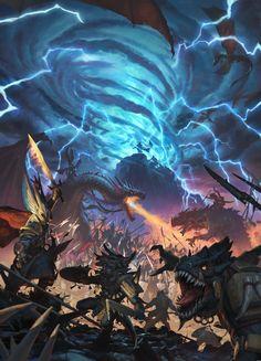 Total War: Warhammer II artwork #Gaming #VideoGames #PCGame #4XStrategy #TBS #TurnBasedStrategy #RTS #RealTimeStrategy #TotalWar #Warhammer #CreativeAssembly #SEGA #VideoGameArt #VideoGamesArt #GameArt #GamesArt #Artwork #FantasyArt