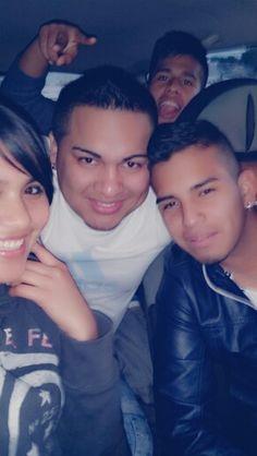 Con mis primos