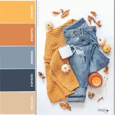 6 Autumn Color Schemes for Social Media - Direct Sales and Home Based Business Entrepreneurs Member Article By Michele M Bradley Color Schemes Colour Palettes, Colour Pallette, Color Trends, Color Combos, Color Combinations For Clothes, Color Balance, Color Stories, Color Swatches, Mode Outfits