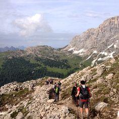 Dopo il #trekking di oggi sono euforico, la Pale di San Martino sono eccezionali