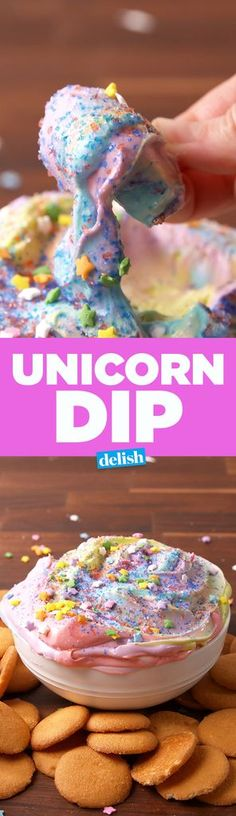 Unicorn Dip Will Make You Believe In Magic