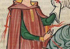Codex Manesse early 14th century. Closeup of arm slit. It is definitely on the sleeve rather than the arm pit, but the high cut seemingly excludes a raglan cut in this case. http://digi.ub.uni-heidelberg.de/diglit/cpg848/0141?sid=bc8eade789ed6e97b54af800fee756dd