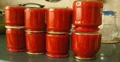 Can wait until planting season! Getting my canning recipes ready! Another canning recipe. Ketchup, Red Onion Jam, Tomato Jam, Home Canning, Blue Food, Russian Recipes, Pickle Jars, Canning Recipes, What To Cook
