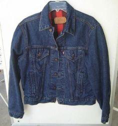86a4a14aa8ea levi s flannel lined denim jacket