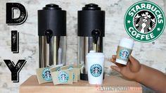 DIY American Girl Doll Starbucks Coffee