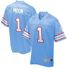 Warren Moon Houston Oilers NFL Pro Line Retired Player Jersey - Royal 7b98ffb36