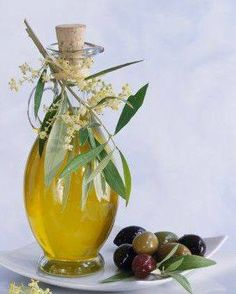 From the richness of olives.