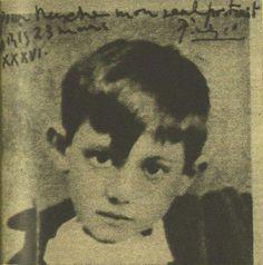 Picasso de niño
