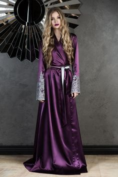 178 Best Satin Robe images  5671fdeef