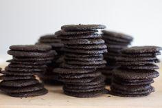 Homemade Chocolate Wafer Cookies