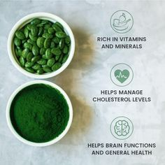Spirulina health benefits Sustainable Environment, Cholesterol Levels, Spirulina, Vitamins And Minerals, Health Benefits, Pakistan, Healthy Living, Organic, Vegetables