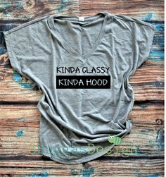 Kinda Classy Kinda Hood shirt/classy but I cuss/but first gangster rap shirt/raising my tribe/mom life shirt/gangsta rap/funny mom shirt/ by 3BuggasDesign on Etsy