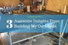 #Solopreneurship: 3 Awesome Insights From Building My Own Desk http://www.stewartswayze.com/blog/2016/9/6/solopreneurship-3-awesome-insights-from-building-my-own-desk #entrepreneur #TipTuesday