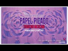 Papel Picado (como hacer las flores) - YouTube