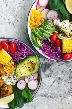 Ausgewogen, lecker und schnell gemacht für ein gesundes Abendessen: Die Buddha Bowl ist der neueste Food-Trend aus Instagram und so lecker!