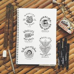 Almost time to ride to the sea! Logo drafts for Sea Logo, It Works, Adventure, Logos, Artist, Instagram Posts, Artists, Fairy Tales, Nailed It