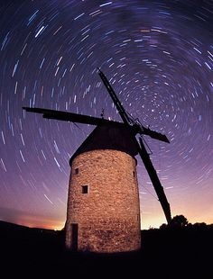 Moussaron Windmill, Gascony