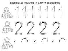 RECURSOS EDUCACIÓN INFANTIL: NÚMERO 2 Preschool Math, Math Activities, Math Worksheets, Math Equations, Home, Preschool Alphabet Activities, Letter Activities, Preschool Math Activities, Toddler Activities