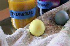 Natural Egg Dyes | F