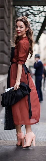 Gorgeous colour combination red and black