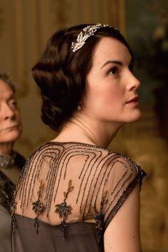 Lady Mary Season Four of Downton Abbey