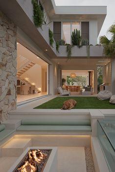 Home Design Decor, House Design, Interior Design, Home Decor, Future House, My House, Farm House, Rio Vista, Internal Courtyard