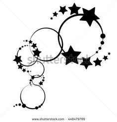 Stars,Star design tattoo,Tattoo.