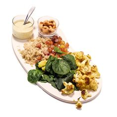 Indian Cauliflower and Quinoa Salad:  This salad is packed with immunity-boosting ingredients. Cauliflower packs vitamin C, and the turmeric in curry powder has curcumin, a compound that fights inflammation and may help protect against cancer. | Health.com
