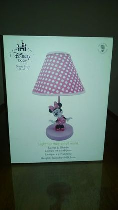 60.00 / Minnie Mouse Lamp