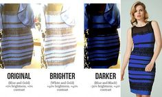 The riddle of a blue and black dress which went viral may be solved #DailyMail