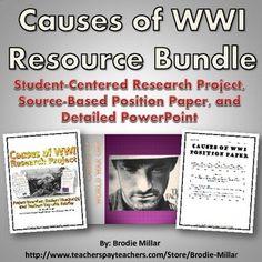 Major causes of war essay