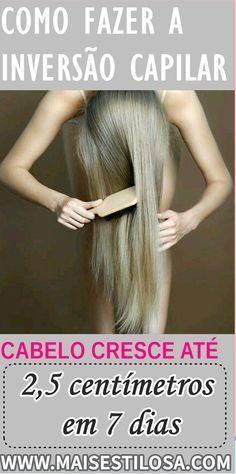 O método de inversão capilar é uma técnica muito utilizada pelas americanas para fazer o cabelo crescer mais rápido. Esse método realmente funciona? Faz mesmo cabelo crescer?