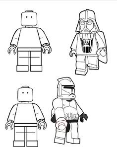 LEGO Colouring Book printable - perfect for party bags!