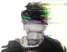 Error on Behance #glitch