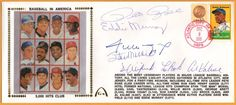 Stan Musial Willie Mays BLEM 3,000 Hits Club Autographed Gateway Stamp Envelope