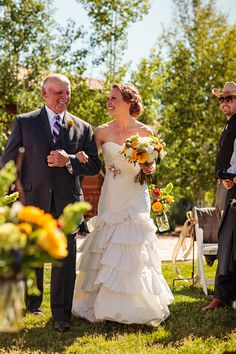 Steamboat Springs Wedding Pictures, Father Daughter