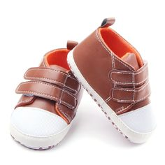 Infant Soft PU Leather First Walker Toddler Shoes //Price: $2.66 & FREE Shipping //     #kidsledshoes