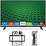 """#10: Vizio D39h-D0 D-Series 39"""" Class Full Array HD LED Smart TV Slim Wall Mount Kit Bundle includes TV Slim Flat Wall Mount Kit Ultimate Bundle and 6 Outlet Power Strip with Dual USB Ports - Shop for TV and Video Products (http://amzn.to/2chr8Xa). (FTC disclosure: This post may contain affiliate links and your purchase price is not affected in any way by using the links)"""