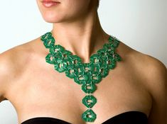 Circuit Board Necklace by Christoph Koch