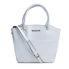 Perfect Michael Kors Miranda Saffiano Logo Small White Totes, Perfect You
