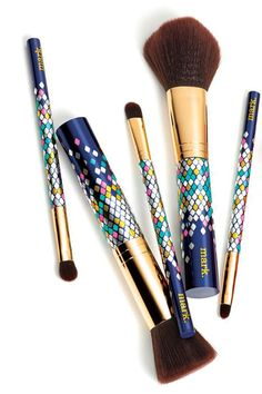 Luxury for under $30: mark. 5-piece brush set