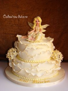 Tort de botez pentru Ana Maria | Cadoul Tau Dulce Cake, Desserts, Food, Pie Cake, Tailgate Desserts, Pie, Deserts, Cakes, Essen