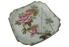 Royal Bonn Roses Plate
