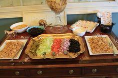 Make your own nachos bar #makeyourown #nachos