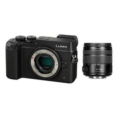 Panasonic Lumix DMC-GX8 Mirrorless Micro Four Thirds Digital Camera with 14-140mm Lens (Black) - International Version (No Warranty) >>> Click on the image for additional details.
