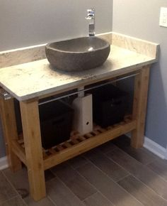 Bathroom Update How To Build A Pottery Barn Inspired Vanity Abbott Console